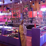 Joan Of Arc Guards The Jewelry Area
