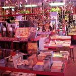 Book Table With Sundries