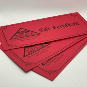Psychic Eye Gift Certificates